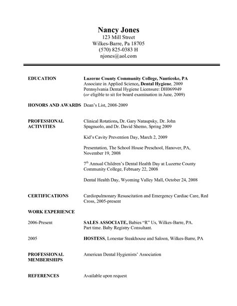 pdf dental hygienist resume in colorado book