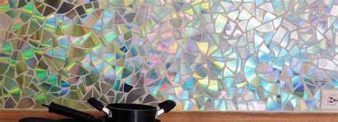 How to Create a Mosaic with old CDs   Home Trends & Ideas