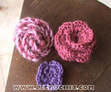 pin fleur crochet on