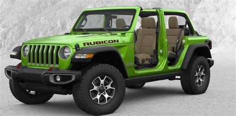 color  people choosing  jeep wrangler