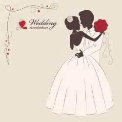 5 wedding invitation vector vectorfans - Wedding Vector
