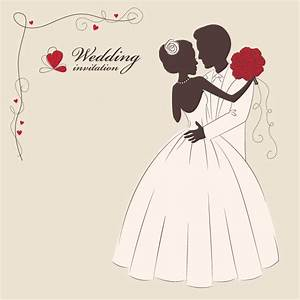 5 wedding invitation vector vectorfans for Wedding cards vector images free download
