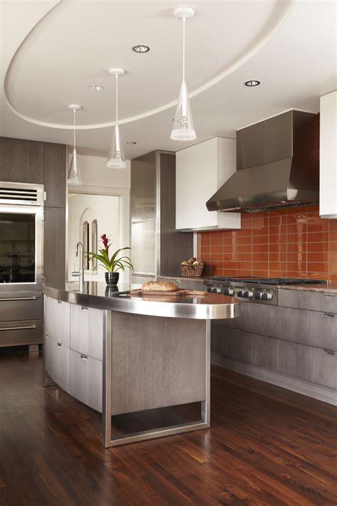 kitchen ceiling design ideas потолки из гипсокартона на кухне 35 фото стильное и 6507