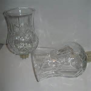 home interiors 2 hurricane glass votive cups candle holders prev owned ebay