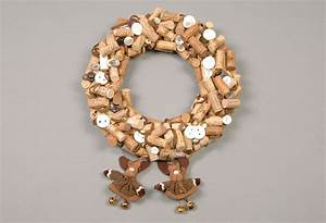 Christmas door wreaths - 18 Craft ideas with cheap materials