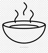 Soup Bowl Clipart Coloring Pinclipart Elegant Webstockreview Clipground Dust sketch template