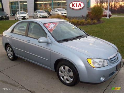 2006 Ice Blue Kia Spectra Ex Sedan #56189281