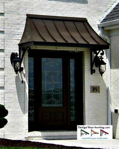 juliet gallery metal awnings tiny house   metal door awning front door