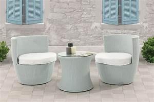 Salon De Jardin Blanc : le blanc pour une d coration chic et relaxante reduc2deco ~ Teatrodelosmanantiales.com Idées de Décoration