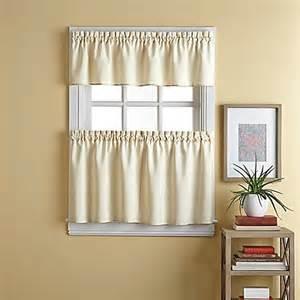 wesley window curtain tier pair bed bath beyond