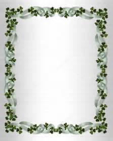 Irish Wedding Invitation Borders
