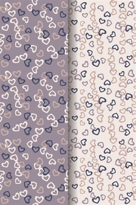 Seamless Pattern Abstract Vector For Background And
