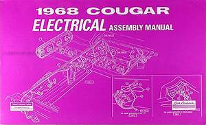 1968 Mercury Cougar Chassis Assembly Manual Reprint
