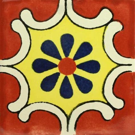 traditional mexican tile arabesque terra cota mexican