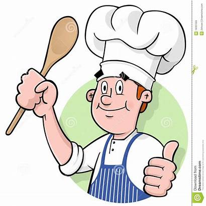 Chef Cartoon Clipart Kok Royalty Gourmet Eats