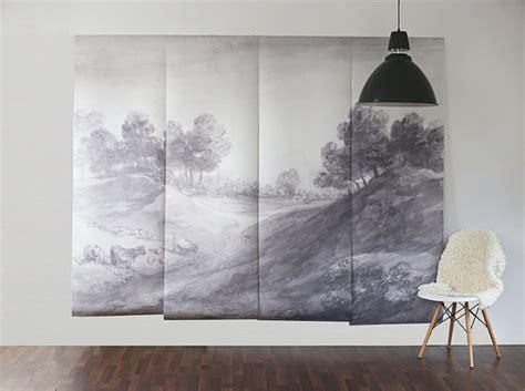ombre paysage murale papier peint fresque panoramique 100