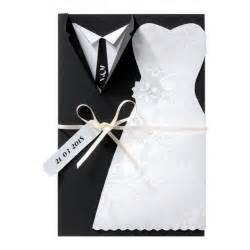 faire part mariage noir et blanc faire part mariage tenues de mariés noir blanc en découpage belarto 726024 faire part de