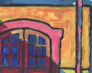 Garage Jullien : schilderij met acrylverf getiteld de garage le garage 2016 ~ Gottalentnigeria.com Avis de Voitures