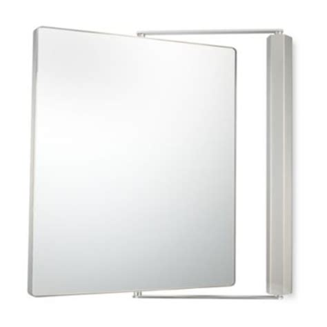 buy kimball 1x 1x magnification dual sided wall mounted pivot mirror in chrome from bed