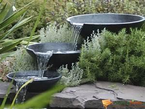 Fontaine Cascade Bassin : fontaine cascade nova scotia 3 vasques terrazzo ~ Premium-room.com Idées de Décoration
