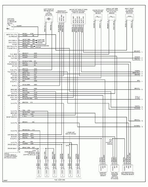 dodge 5500 trailer wiring diagram trailer wiring diagram