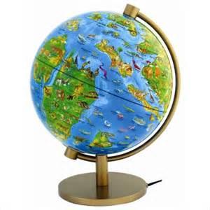 Illuminated World Globes for Sale
