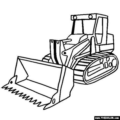 Cars and trucks coloring pages. Simple Bulldozer Drawing at GetDrawings | Free download