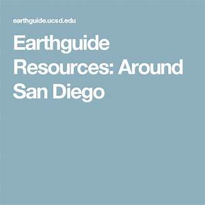 Earthguide Resources  Around San Diego  With Images
