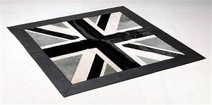 17 best images about norki tapis peau de vache hide With tapis union jack