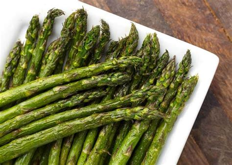 asparagus air fryer fried few tips perfect
