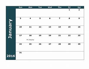 2016 monthly calendar template 18 free printable templates With 18 month calendar template
