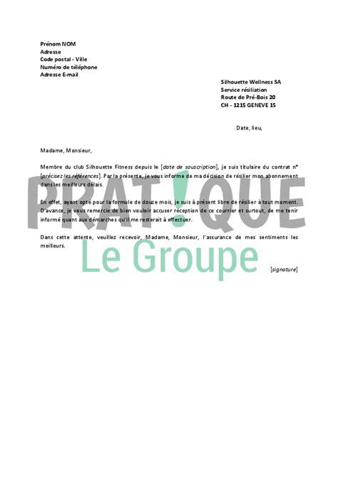 emploi cuisine geneve lettre de résiliation silhouette fitness pratique fr