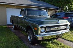1969 Chevrolet C10 Pickup 6 Cyl For Sale