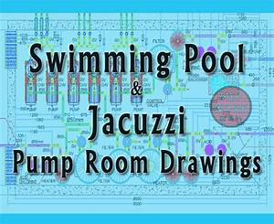 Swimming Pool And Jacuzzi Pump Room Drawings