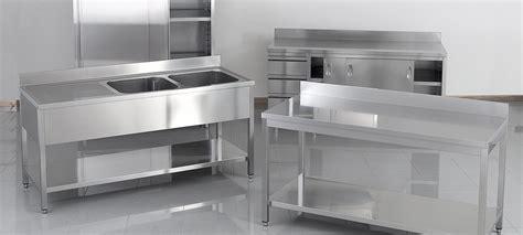 plan de travail cuisine professionnelle superbe table avec plan de travail 9 mat233riel inox