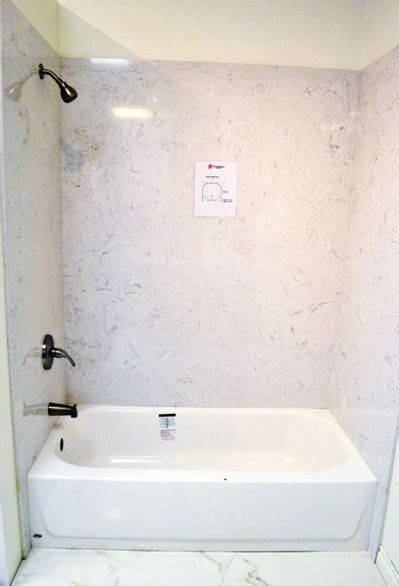 quartz bathtub shower surround  cabinets granite