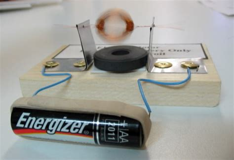 Simple Motor by Hila Electromagnetism
