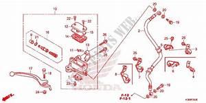 Front Brake Master Cylinder For Honda Cbf 160 Unicorn 2015