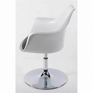 Fauteuil Design Blanc : fauteuil design ghost blanc et noir ~ Teatrodelosmanantiales.com Idées de Décoration