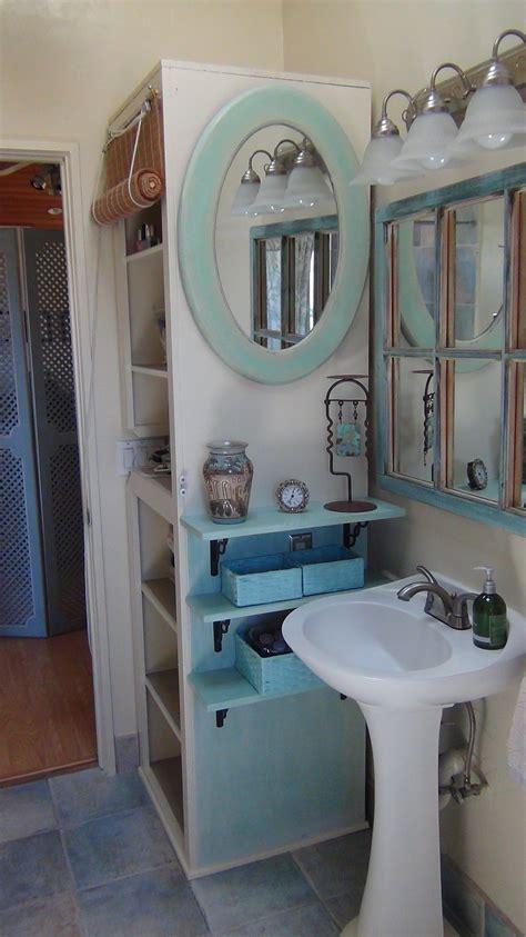 hair     small bathroom organized beautifully