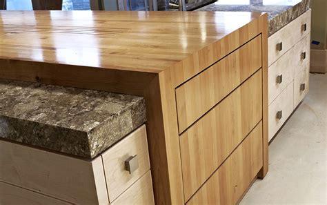 Cherry Cabinets Kitchen by Alder Wood Countertop Butcher Block Countertop Bar Top