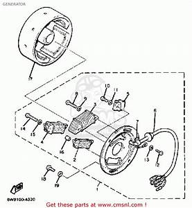 Yamaha Et300h Enticer 1984 Generator