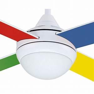 Ventilateur De Plafond 105 Cm Pour Chambre D39enfant Avec