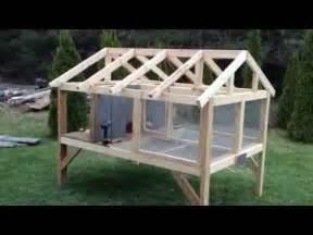 Homemade Outdoor Rabbit Hutch Plans