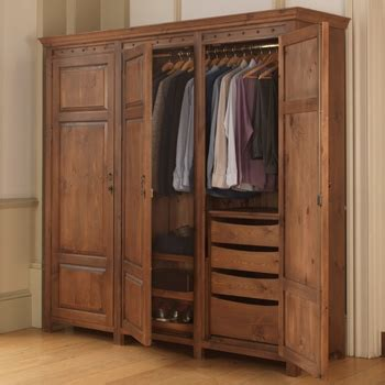 3 Door Wardrobe Closet by Solid Wood Wardrobes Tailored To Your Storage Needs