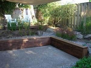 Wood retaining wall ideas makipera