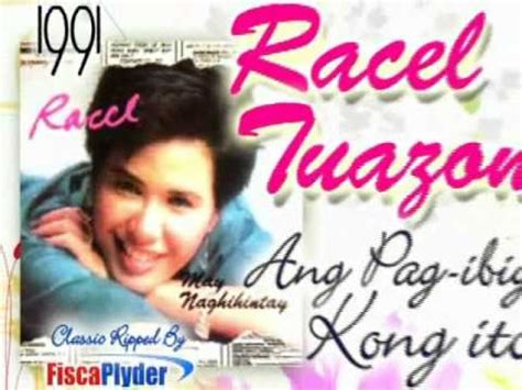Ang Pagibig Kong Ito (racel Tuazon) 1991 Youtube
