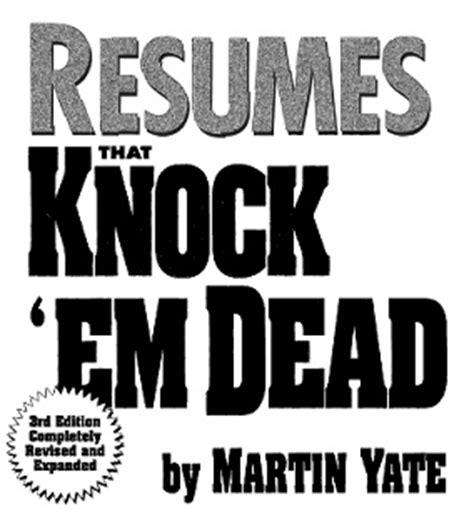 Knock Em Dead Resumes Pdf by Wawa Conspi Par La Connaissance Nous Les Briserons