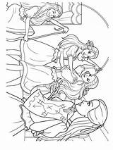 Barbie Coloring Pages Three Musketeers Printable Bright Choose Colors Favorite sketch template