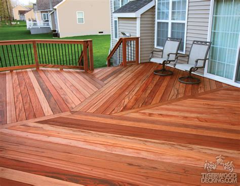 Tiger Wood Decking Maintenance by Tigerwood Decking Pictures Tiger Wood Deck Photos
